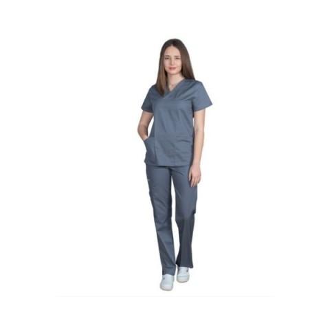 Ιατρική Στολή Γυναικεία – Γκρί