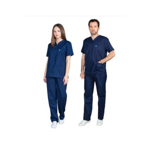 Ιατρική Στολή Unisex – Σκούρο Μπλε
