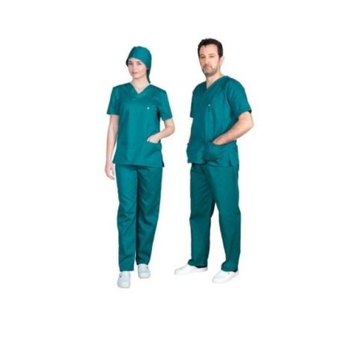 Ιατρική Στολή Unisex – Σκούρο Πράσινο