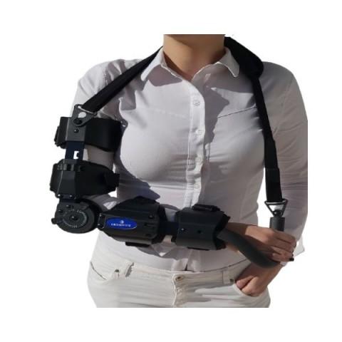 """Νάρθηκας αγκώνος λειτουργικός με γωνιώμετρο """"elbow pro rom"""""""