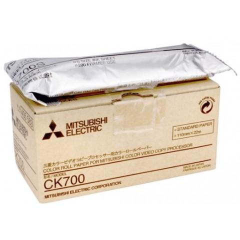 """Θερμικά χαρτιά υπερήχων  Mitsubishi """"CK-700 Color printing roll for A6 video printer CP-700 series"""""""