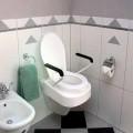 Ανυψωτικό τουαλέτας με Καπάκι & Μπράτσα 10 εκ. ύψος