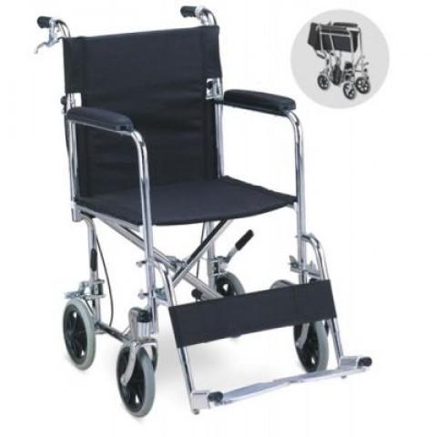 Αναπηρικό αμαξίδιο μεταφοράς με προσθαφαιρούμενα υποπόδια
