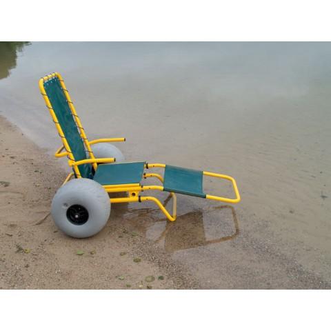 Αναπηρικό αμαξίδιο Καροτσάκι Θαλάσσης Ducky