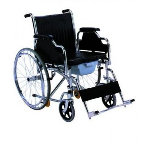 Αναπηρικό αμαξίδιο με δοχείο wc Πτυσσόμενο