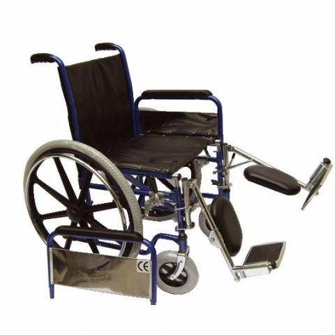 Αναπηρικό αμαξίδιο με ανακλινούμενα υποπόδια