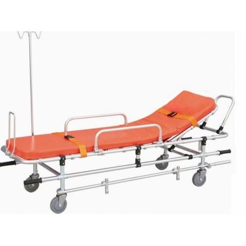 Φορείο ασθενοφόρου με στατό ορού