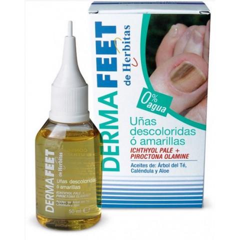 Υγρό για αποχρωματισμένα νύχια φιαλίδιο Herbitas 50 ml