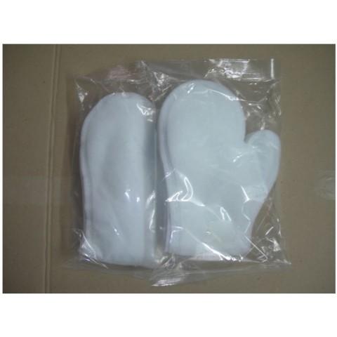 Γάντια καθαρισμού σώματος με αντίχειρα  10 τμχ. εμποτισμένα