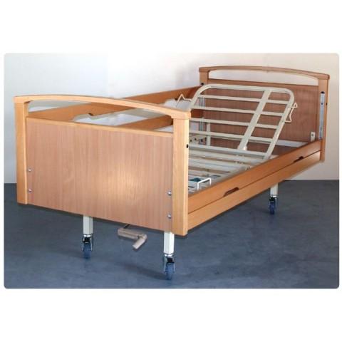 Νοσοκομειακό κρεβάτι ξύλινο χειροκίνητο μονόσπαστο Opus 4