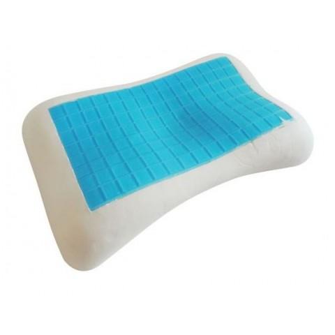 Μαξιλάρι ύπνου καμπυλωτό με Gel