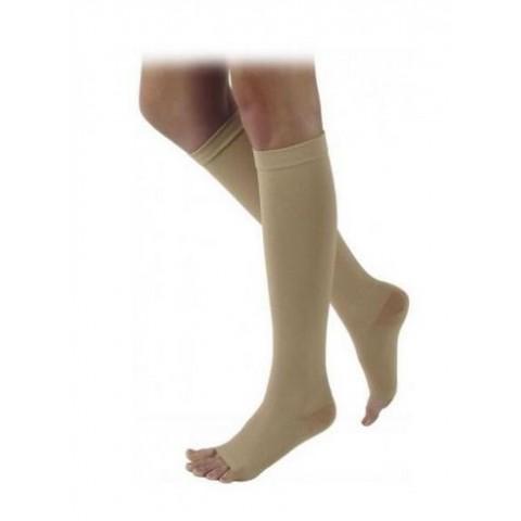 Κάλτσες Varisan-Top κάτω γόνατος έξω δάκτυλα κλάση IΙΙ