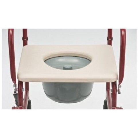 Ανταλλακτικό πλαστικό κάθισμα για αμαξίδιο μπάνιου 403.32
