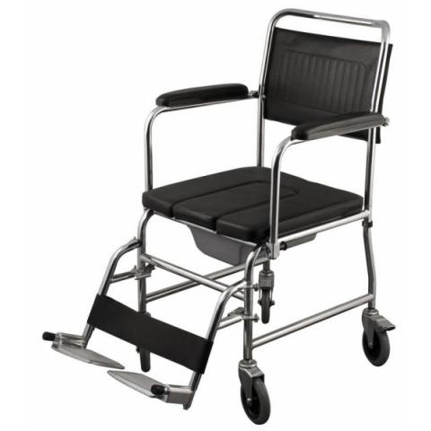 Aναπηρικό αμαξίδιο με δοχείο και συρταρωτό κάθισμα