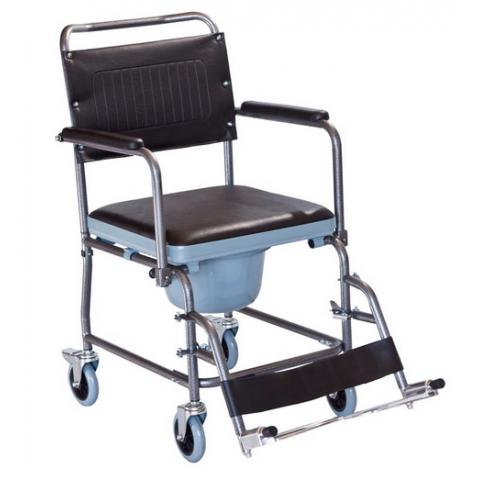Αναπηρικό αμαξίδιο με αποσπώμενα υποπόδια και πτυσσόμενα πλαϊνα