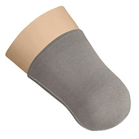 Κάλτσα κολοβώματος Nylon με ασήμι μηρού χωρίς τρύπα