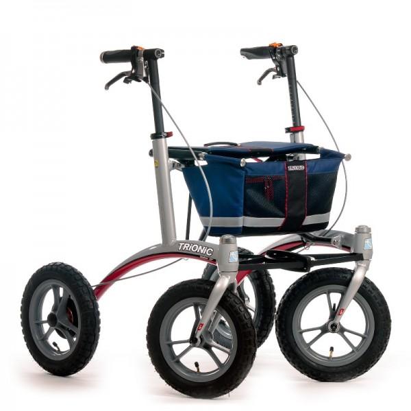 Trionic Walker 12er Περιπατητήρας Rollator για Χρήση σε Ανωμάλους Δρόμους