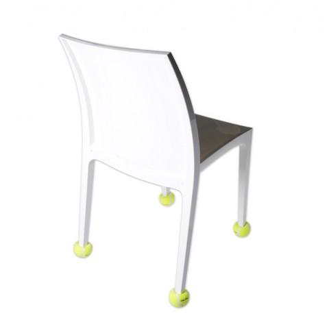 Πατάκια καρέκλας - 4 τεμ. - Κίτρινο