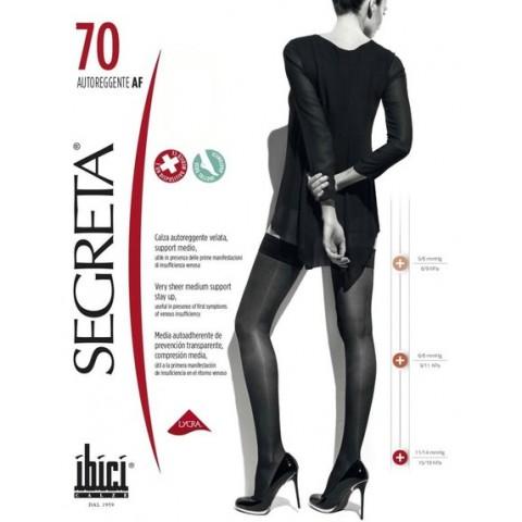 Ibici Κάλτσα ριζομηρίου 70Den με σιλικόνη