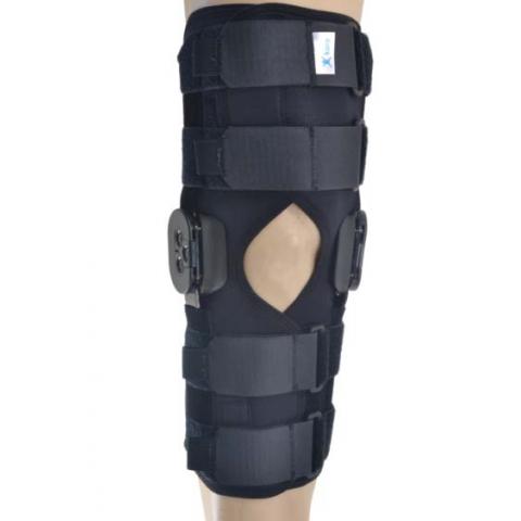 Νάρθηκας γόνατος neoprene με πολυκεντρική ρύθμιση 40 εκατατοστά μήκος.