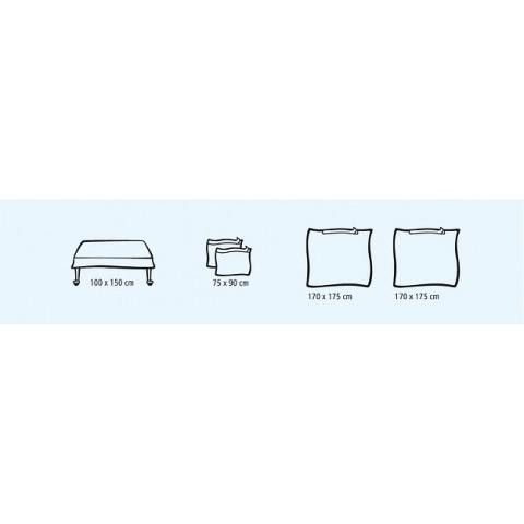 Foliodrape βασικό σετ ambu συσκευασία των 9 σετ