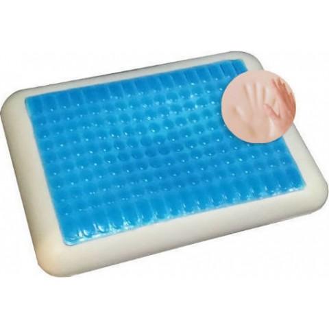 Μαξιλάρι ύπνου memory foam Cool Gel 43 Κλασικό