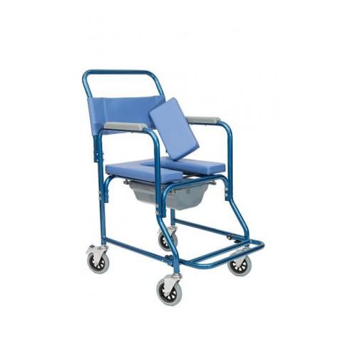 Αναπηρικό αμαξίδιο μπάνιου με δοχείο