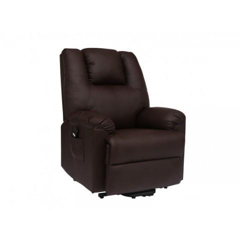 Πολυθρόνα θερμ/νη Relax-Massage 8 σημείων με ηλεκτρική και εμπρόσθια ανάκληση