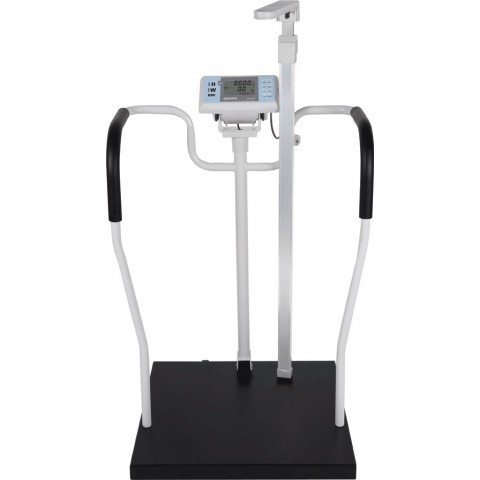 Ζυγαριά για εύσωμα άτομα εωσ 300 kg με χειρολαβή και ψηφιακή ράβδο μέτρησης