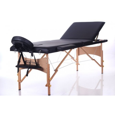Rest Pro Classic 3 Κρεβάτι Φυσικοθεραπείας-Μασάζ Βαλίτσα Ξύλινο