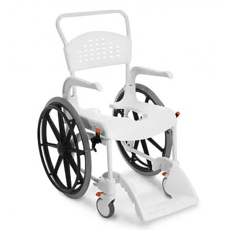 Αναπηρικό αμαξίδιο μπάνιου - τουαλέτας Clean με μεγάλες ρόδες