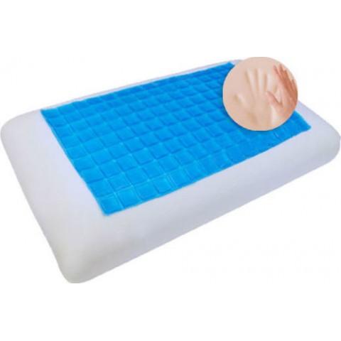 Μαξιλάρι ύπνου memory foam Cool Gel 42 Κλασικό