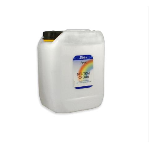 Κρέμα Μάλαξης Sixtus Neutral Cream 5lt