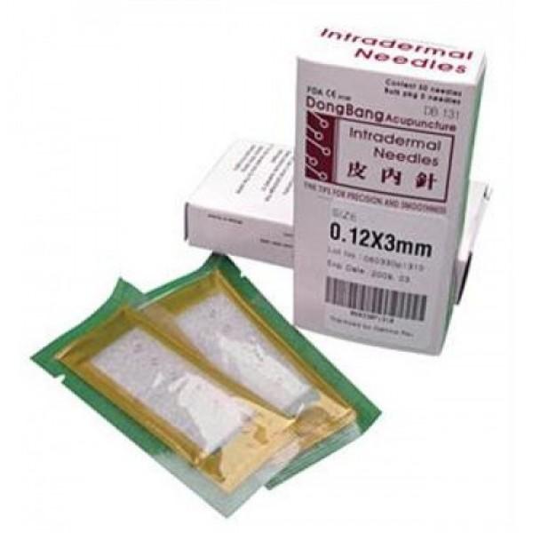 Βελόνες βελονισμού DB 131 Intradermal needles 50 τμχ.