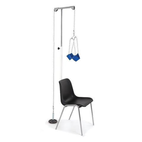 Πλήρες σύστημα αυχενικής έλξης για καρέκλα