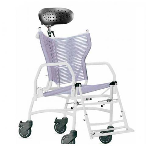 Καρέκλα μπάνιου τροχήλατη Doccia