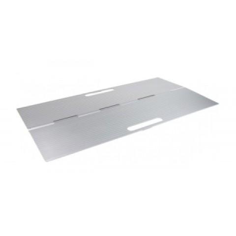 Ράμπα πόρτας και μικροεμποδίων με συρόμενες θύρες από αλουμίνιο 40 x 76 cm