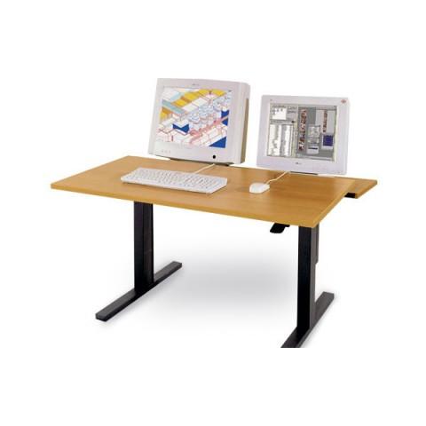 Εργονομικά Τραπέζια Ergo MC με ρυθμιζόμενο ύψος και ξεχωριστά ρυθμιζόμενη πίσω επιφάνεια τραπεζιού