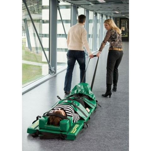 Υπερδιπλωμένο στρώμα μεταφοράς ασθενών μαζί με τσάντα μεταφοράς