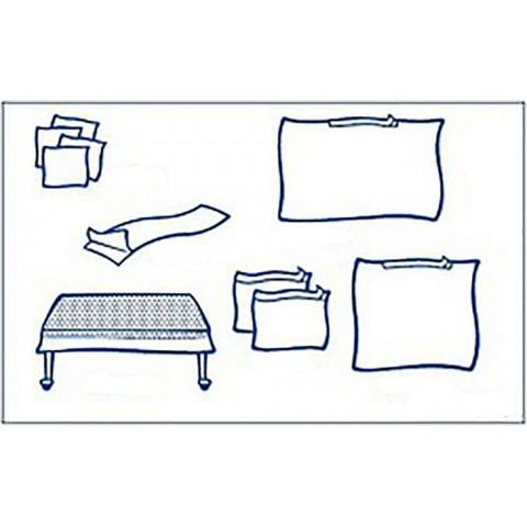Foliodrape σετ γενικής χρήσης Ι protect συσκευασία των  8 σετ