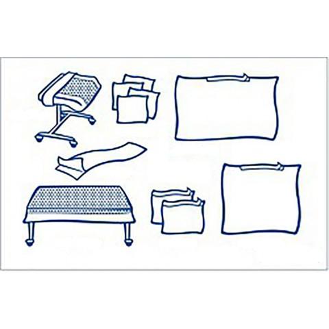Foliodrape σετ γενικής χρήσης ΙΙ protect συσκευασία των  7 σετ