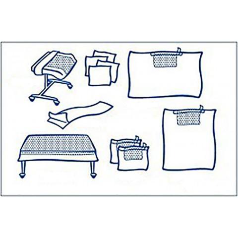 Foliodrape σετ γενικής χρήσης Ι  protect plus συσκευασία των  6 σετ