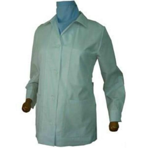 Μπλούζες λευκές κοντές-σύνθεση 35% βαμβάκι-65% πολυεστέρας γιακάς πουκάμισου γυναικείες