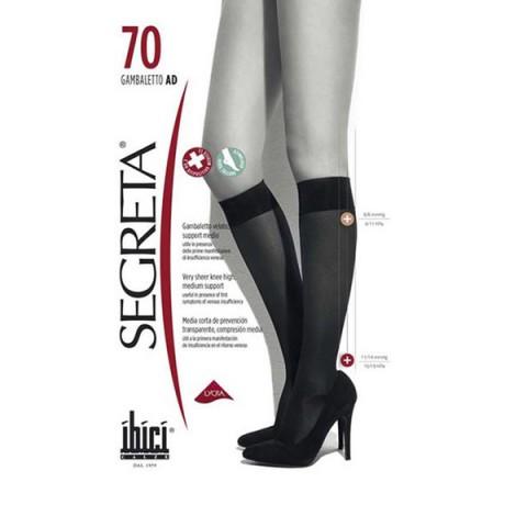 Ibici Κάλτσα κάτω γόνατος Segreta 70Den
