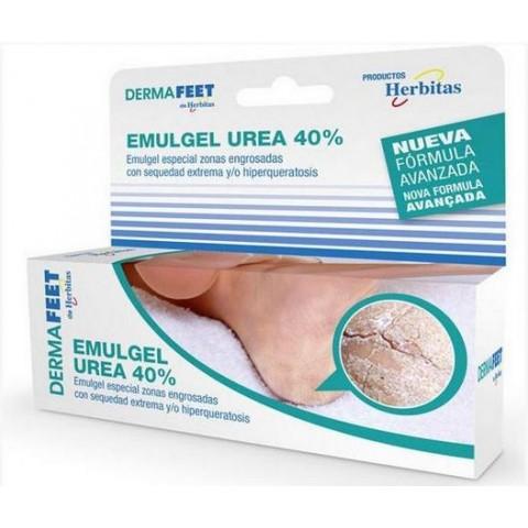 Κρέμα για σκασμένες πτέρνες Urea 40% Herbitas 60 ml
