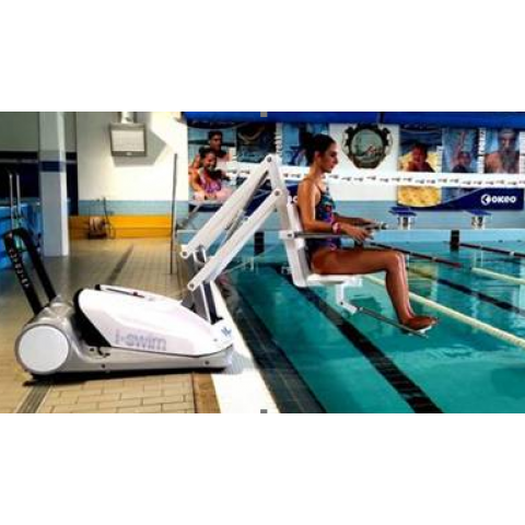 I-Swim II Γερανός Πισίνας Μεταφερόμενος
