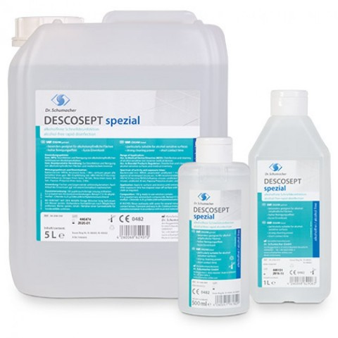Υγρό ταχείας απολύμανσης Descosept spezial (1L)
