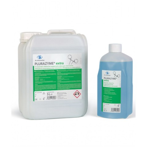 Υγρό καθαρισμού χειρουργικών εργαλείων και ενδοσκοπίων Plurazyme extra  (1L/5L)