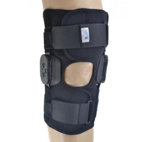 Νάρθηκας γόνατος neoprene με πολυκεντρική ρύθμιση.