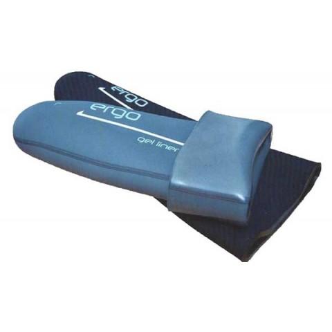 Κάλτσα κολοβώματος γέλης (gel) ανομοιόμορφου πάχους με ή χωρίς πύρο